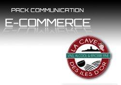 conception communication design et site internet vente en ligne pour cave à vin