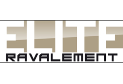 Logo pour société elite ravalement