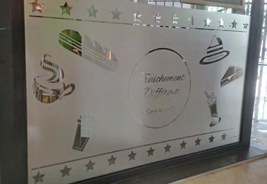 décoration vitrine Urban Comptoir