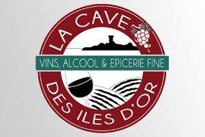 conception logo société de cave à vin