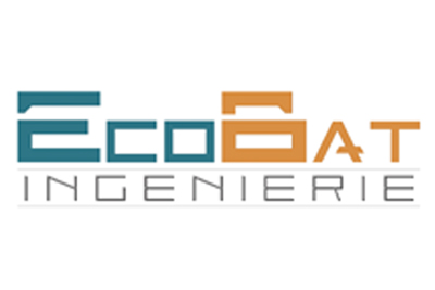 conception design logo économie de la construction