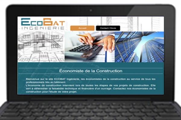 Site internet Ecobat pour pc et smartphone