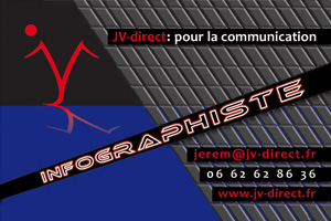 visuel recto carte de visite JV-direct