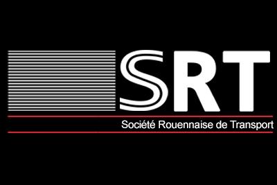 création de logo pour la société de livraison SRT