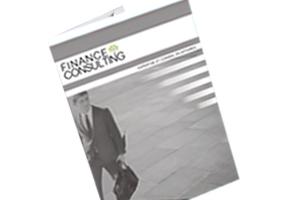 réalisation pochette finance consulting