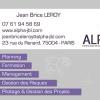 création carte entreprise gestion