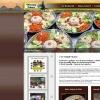 accueil avec bannière animée pour site internet restaurant